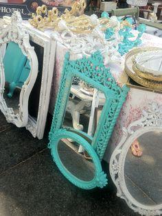 Flea Market Shabby Chic Furniture | Fun Finds at the Fairfax Flea Market | Wander Magazine