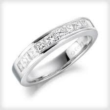 princess cut diamond wedding rings - Google Search
