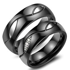 Find More Rings Information about Romantic Stainless Steel Gold Plated Lovers Ring For Men Women Cubic Zirconia Wedding Band Couple Promise Jewelry,High Quality ring for,China lovers rings Suppliers, Cheap rings for men from Yuan Yi jewelry Store on Aliexpress.com