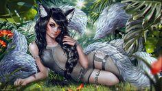 ღೋ ══════════════════════════╗ ☆●☽✪☾♬  www.facebook.com/LagoonFantasy   ♬☆☽✪☾ ╚════════════════════════ ೋ  Art by Tigrsasha http://tigrsasha.deviantart.com/gallery/