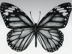 Vintage Butterfly Tattoo, Realistic Butterfly Tattoo, Traditional Butterfly Tattoo, Butterfly Tattoos On Arm, Traditional Style Tattoo, Butterfly Tattoo Designs, Leg Tattoos, Body Art Tattoos, Monarch Butterfly Tattoo