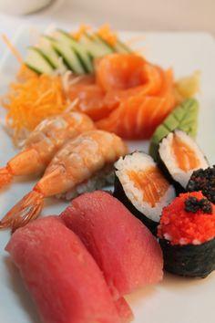 Aula de Sushi, sashimi, niguiri