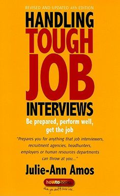 This book prepares you for anything that job interviewers, recruitment agencies, headhunters, employers or human resources departments can throw at you...