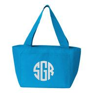 Shop for custom clothing, personalized gifts and of designs featuring camp, candy, sports & more. Create at our Custom Clothing Bar, shop online or call us! Insulated Lunch Bags, Reusable Tote Bags, Sleepover Bag, 3 Letter, Block Lettering, Custom Clothes, Personalized Gifts, Monogram, Turquoise