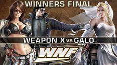 WINNERS FINAL - Weapon X (Dragunov, Katarina) vs. Galo (Nina) - WNF 3.3 - Tekken 7 https://www.youtube.com/watch?v=llgpyGCc4r4&t=25s