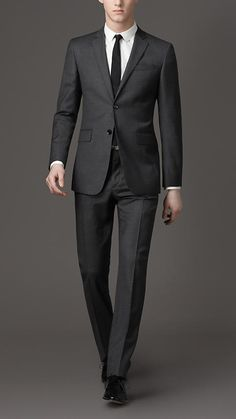 Burberry London Modern Fit Prince Of Wales Check Suit