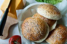 7 grain homemade buns