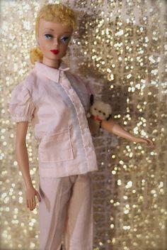 Vintage Barbie in her jammies