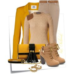ALL READY TO GO, created by tinadhaliwal on Polyvore