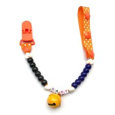 Pacifier Clip- Any Name Pacifier Clips Dummy Christmas gift Holder Baby Nipple Feeding Supplies Kid Funny Garment Clip