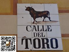 Calle del Toro de la Ciudad de Madrid en España