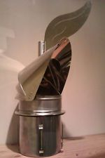 wind chimney cowl - 150mm Dragon Cowl - Anti-downdraught chimney cowl Chimney Cowls, Chimney Cap, Knife Block, Tiny Homes, Grape Vines, Compact, Room Ideas, Dragon, Cottage