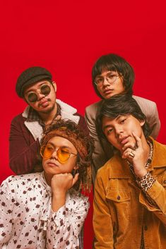 Here's why IV OF SPADES is about to become your new favorite band - Scout Magazine Funk Disco, Music Rock, King Of Spades, Band Wallpapers, Iphone Wallpapers, Cool Album Covers, Band Posters, Room Posters, 90s Outfit