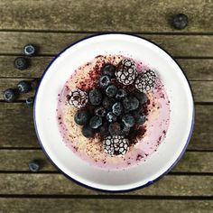Very Berry Oats