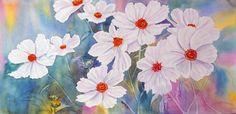 A. Murugesan - Cosmos white suriname art