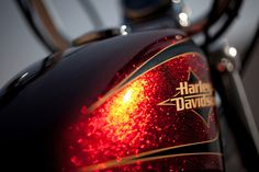 72 Harley Davidson Sportster...another view of the tank, isn't that paint just beautiful!...<3 this paint.  Christy Joy will have a new bike soon