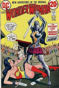 1973 Shazam Award, Best Inker (Dramatic Division): Dick Giordano  Cover for Wonder Woman (DC, 1942 series) #204