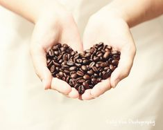 Coffee Bean Photograph Photo  Heart love by KellyVeePhotography, $14.99