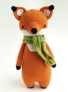 Fox amigurumi pattern #littlebearcrochets #amigurumi #crochet #diy