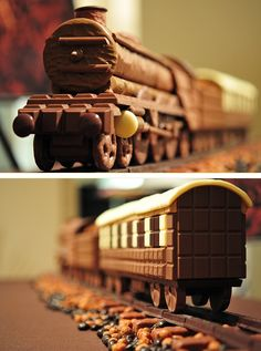 The cookie-candy-pretzel train.