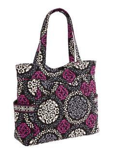 Vera Bradley Pleated Tote Zip Top Bag - http://bags.bloggor.org/vera-bradley-pleated-tote-zip-top-bag/