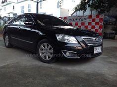 ขายรถเก๋ง TOYOTA CAMRY โตโยต้า แครมรี รถปี2008 สีดำ