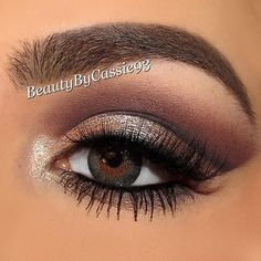 Our #darling @beautybycassie93 wearing #browrehab #browcream in #ashbrown . Thank you babe  www.browrehab.com