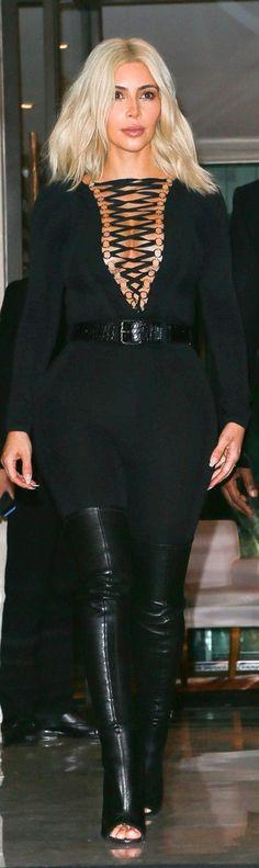 Kim Kardashian #PFW