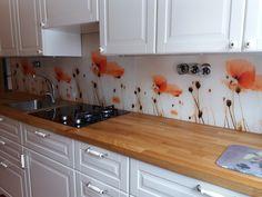 Grafosklo za kuchyňskou linku - vlčí mák Abh, Kitchen Cabinets, Design, Home Decor, Decoration Home, Room Decor, Cabinets, Home Interior Design