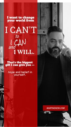 I want to change your world from I CAN'T to I CAN and I WILL. That's the biggest gift I can give you — hope and belief in yourself. Competitor Analysis, Co Founder, You Changed, I Can, Mindset, Leadership, Coaching, Entrepreneur, Things I Want
