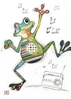 G009 Freddy Frog