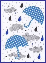 Deštníky, deštivé počasí, kapky vody Kids Rugs, Create, Decor, Decoration, Kid Friendly Rugs, Decorating, Nursery Rugs, Deco