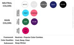 Deep Winter Palette, Simple Style, My Style, Plum Color, Charcoal Color, Color Palettes, Color Combos, How To Plan, Mom