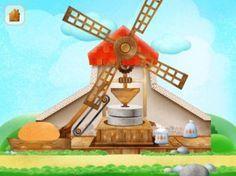 App voor kinderen om op een leuke wijze het proces van graan tot brood te leren.