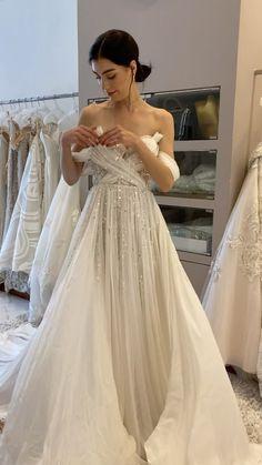 tanzilia.id on Instagram: Our muse Aloni shows us how to wear the dress Wedding Attire, Wedding Dresses, Muse, Watch, How To Wear, Instagram, Fashion, Bride Dresses, Moda