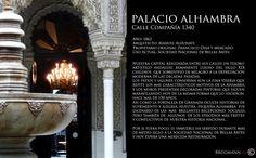 Palacio Alhambra  Calle Compañía 1340, Santiago de Chile.