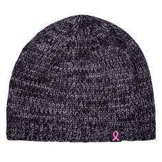 Tuque en tricot pour adulte - Pour soutenir la Fondation du cancer du sein Beanie, Sport, Hats, Fashion, Ribbon Rose, Breast Cancer, Tricot, Moda, Deporte
