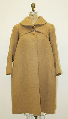 Coat Designer: Charles James  Date: early 1950s
