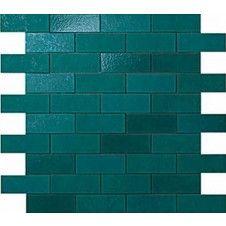 Atlas concorde Ewall tegelmat 30,5x30,5 cm, vrij 2.9x7.5 cm,doos à 6 stuks, petroleum green