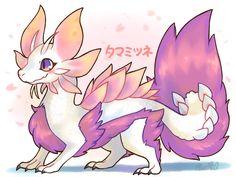 Monster Hunter chibi: Mizutsune