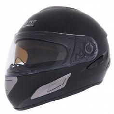 #Casco Integral Moto Visor solar Helix Cursus B, Negro