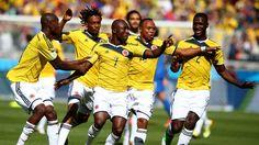 Estreno soñado de #Colombia - #Grecia (3-0)