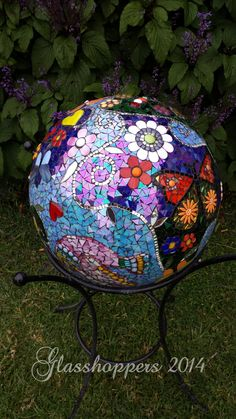Garden Gazing Ball by Glasshoppers