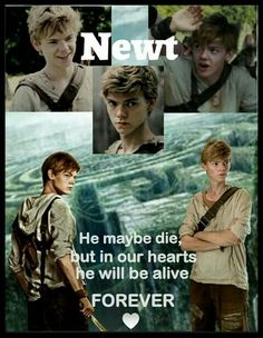 The maze runner - Newt♥