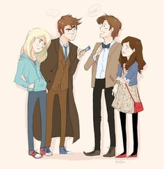When The Doctor and Clara meet the parrallel Doctor and Rose.