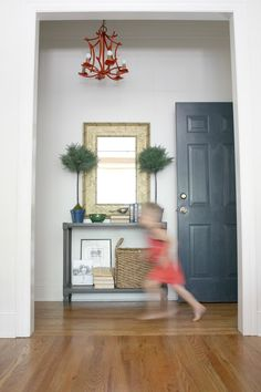Decorating Our (Small) Back Entryway - Emily A. Clark