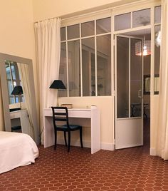 Our achievements of interior canopies artist& studio Bedroom Divider, Glass Room Divider, Steel Frame Doors, Mini Loft, Big Bedrooms, Salon Interior Design, Small Cottages, Living Room Windows, Scandinavian Home
