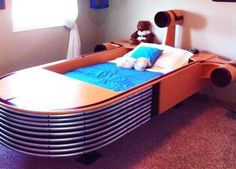 Someone in Calgary is selling this hand-made Star Wars land speeder bed. Star Wars Furniture, Kids Furniture, Star Wars Zimmer, Race Car Bed, Star Wars Bedroom, Star Wars Love, New Room, Kids Bedroom, Cool Stuff