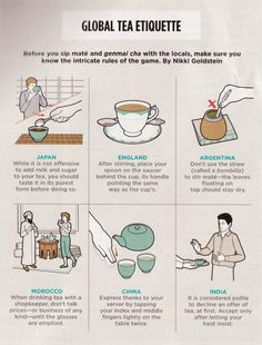 Tea Etiquette from Around the World