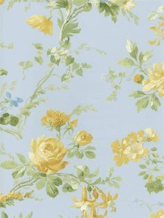 English Cottage wallpaper in every room!